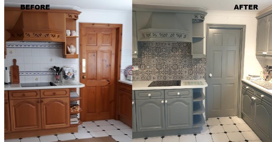 Redo Kitchens The Respray Kitchen, New Kitchen Cabinet Doors Uk